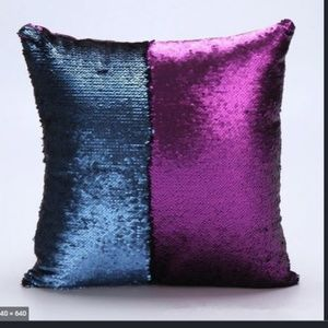 Magical Mermaid Purple Color Changing Pillow